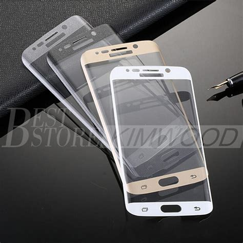 Tempered Glass Samsung Galaxy A7 2017 Curved Edge 9h 3d curved 0 2mm 9h tempered glass screen protector for samsung galaxy s6 s7 edge plus a3 a5 a7