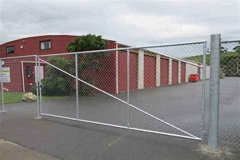 industrial swing gate industrial fence swing gate gateman automatic gates