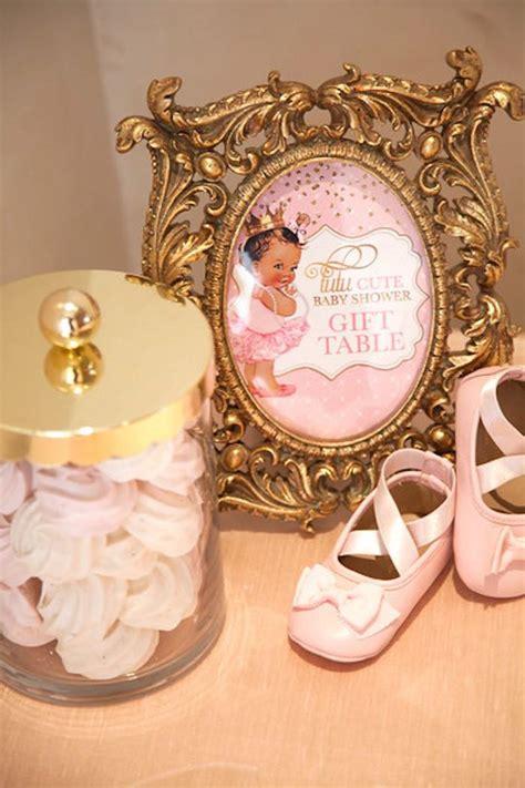 Pink Ballerina Baby Shower by Kara S Ideas Pink Quot Tutu Quot Ballerina Baby Shower
