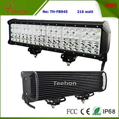 Led Jeep Road Cree 288watt 1 216 watt 17 inch cree row road led light bar for