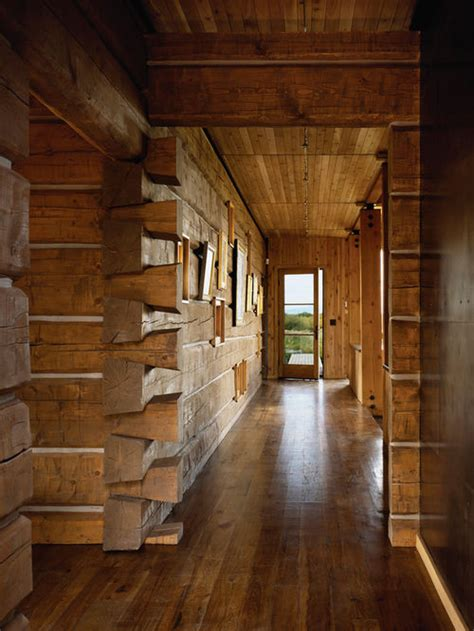 log home interior walls rustic log cabin interior home design ideas pictures