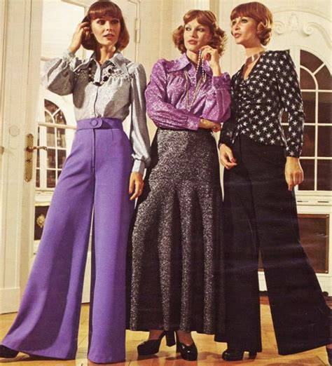 the history of fashion 1970s