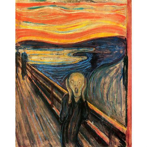 Painting A Wall by Edvard Munch De Schreeuw