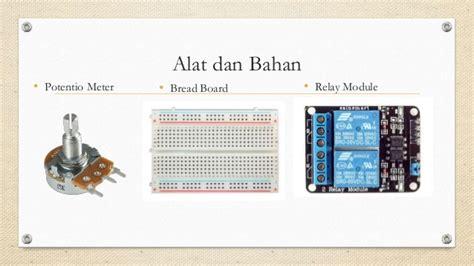 alat dan bahan untuk membuat rt rw net project arduino nutrisi otomatis untuk hidroponik