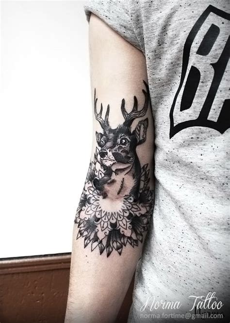 tattoo mandala deer cerf tattoo deer tattoo mandala by norma tattoo norma