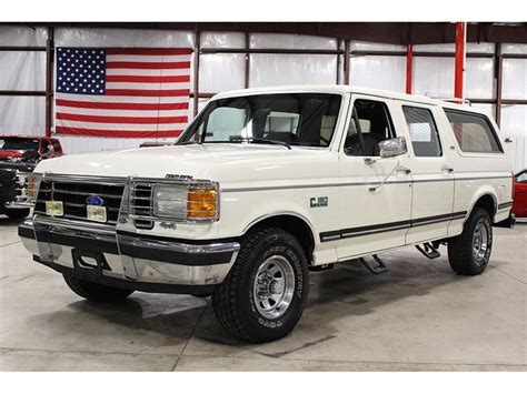 Centurion Bronco For Sale by 1990 Ford Bronco C150 Centurion For Sale Classiccars