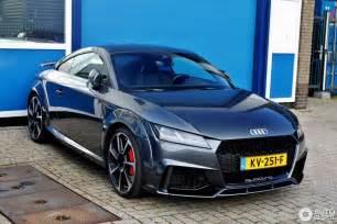 Audi Ttrs Audi Tt Rs 2017 10 March 2017 Autogespot