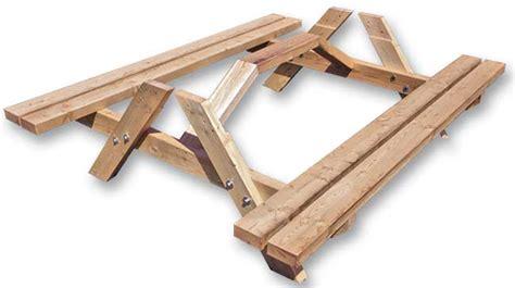 tavolo di legno fai da te tavolo pic nic fai da te tutti i passaggi illustrati