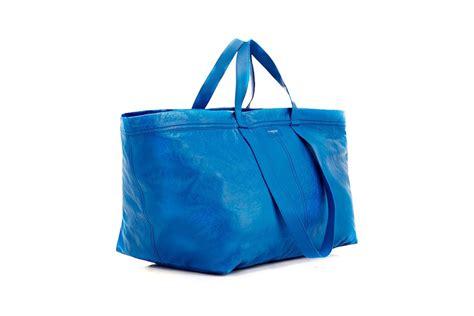 new ikea bag balenciaga releases new tote that looks suspiciously like