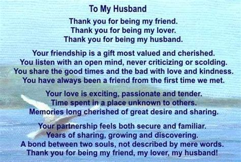 happy birthday poem to my husband pictures reference