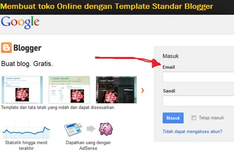 template blog toko online sederhana cara buat blog murah untuk toko online jasa bikin blog murah