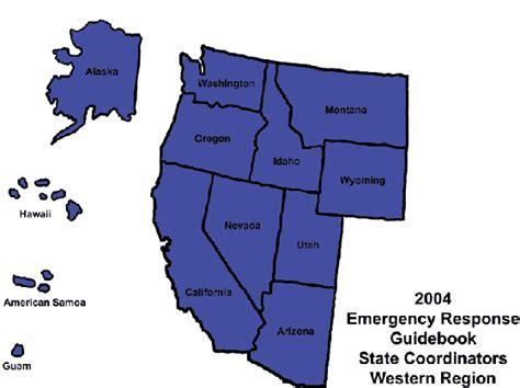 western region of the united states map us western region www pixshark images galleries