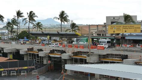 Rent Car Honolulu Airport Honolulu International Airport Construction Update