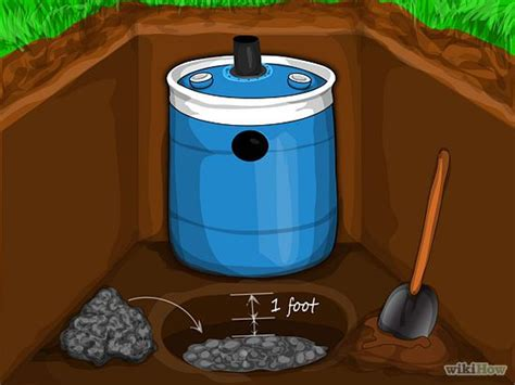 Construct A Small Septic System Septic System Tiny House Septic System