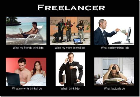 what my friends think i do template what my friends think i do what i actually do freelancer