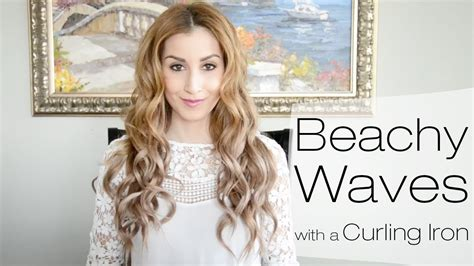 beachy waves for short gair with remington wand beachy waves hairstyle for everyday using a curling iron