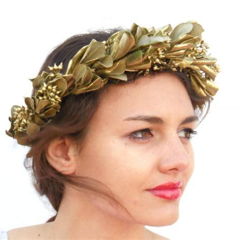 Safety Shoes Athena 4in 36 3 gold leaf crown minimal leaf crown unisex goddess