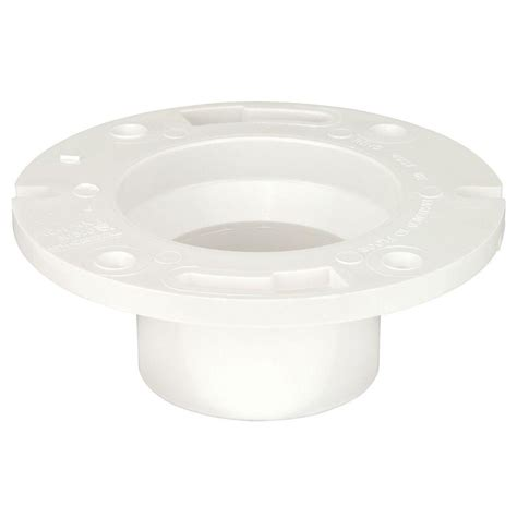 Pvc Closet Flange by 4 In X 3 In Pvc Dwv Closet Flange C48512hd43 The Home