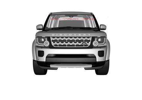 land rover discovery drawing 2014 land rover discovery facelift leaked in patent drawings