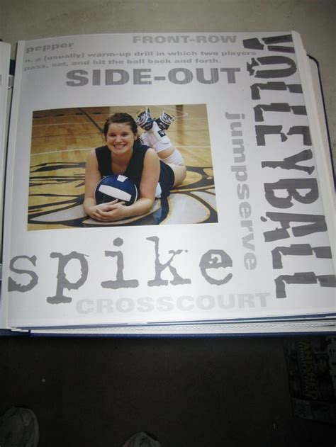 scrapbook layout ideas for volleyball 17 best images about scrapbook pages volleyball on