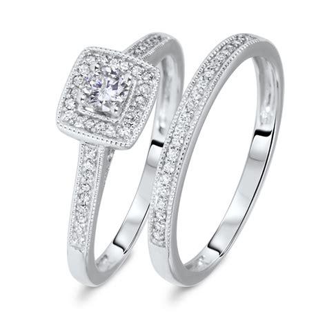 1 1 3 CT. T.W. Round Cut Diamond Ladies Bridal Wedding