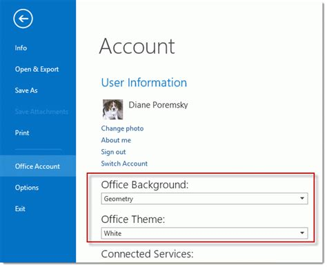 color themes in office 2013 office 2013 s color scheme
