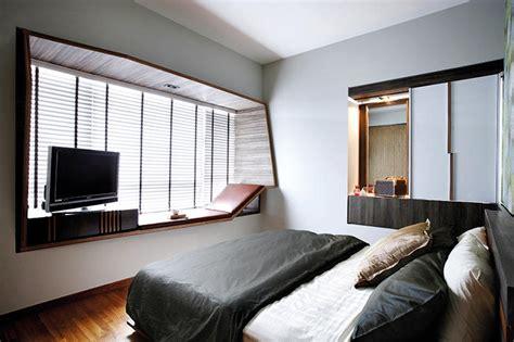 home window decor space saving ideas for bay windows home decor singapore