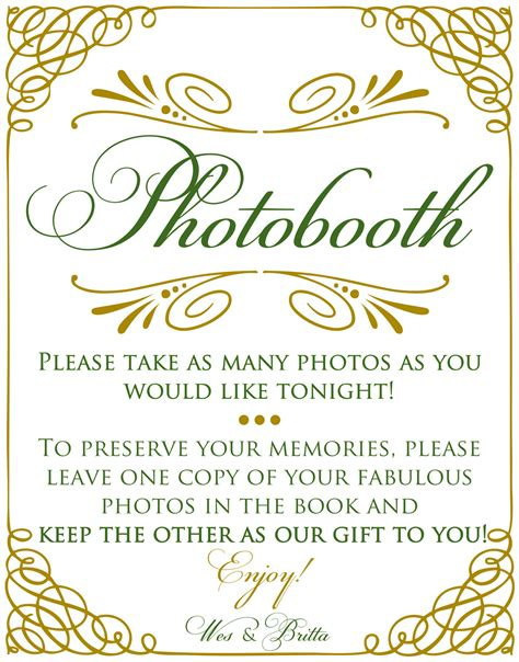 best photos of photo booth sign template printable photo