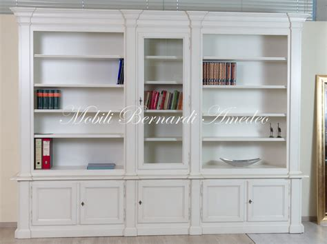 libreria in legno librerie classiche in legno librerie