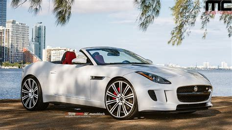 jaguar f type custom mc customs vellano wheels jaguar f type youtube