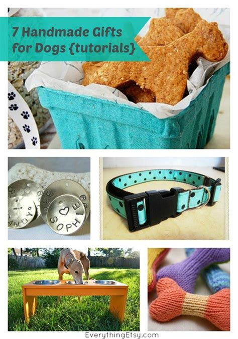 Handmade Gifts Tutorials - 7 handmade gifts for dogs tutorials