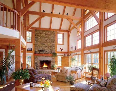 timber frame home interiors timber frame interiors