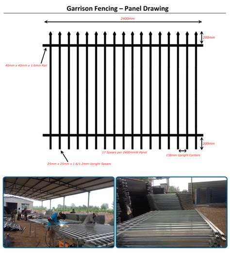 Drawing Quality Steel by Best Quality Aluminum Picket Fence For Garden China Best
