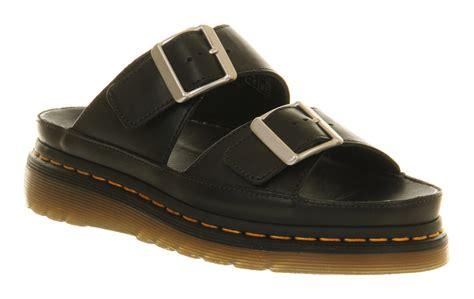 doc martens sandals dr martens shore cyrus sandal black leather