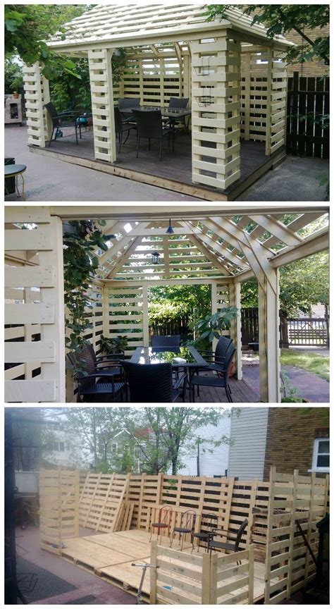 Pavillon Aus Paletten by Pavilion Made From Recycled Pallets Pavillon G 228 Rten Und