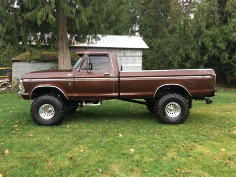 ford cummins 1979 ford cummins diesel powered lifted 4x4 fummins for