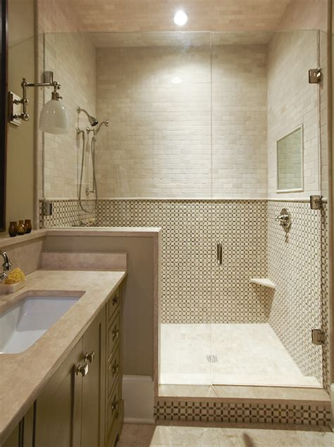 taupe quartz countertop contemporary bathroom
