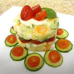Potato Salad Decoration by Potato Salad Cake Working S Edible