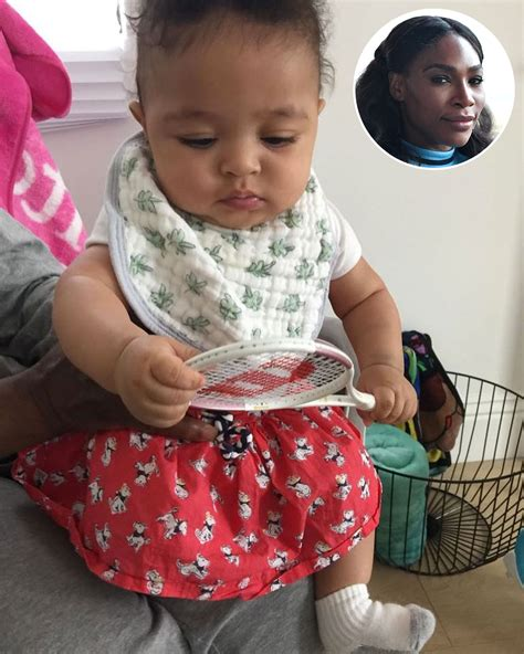Serena Williams' Daughter Already Has Her Own Tennis