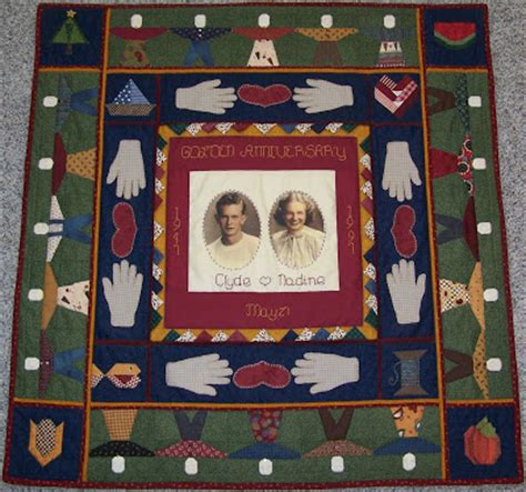 skunk hollow golden wedding anniversary quilts