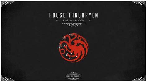 Kaos House Targaryen Of Thrones Of Thrones Maison Targaryen Papier Peint