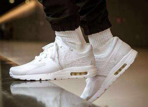 Nike Airmax Zero White Bnib nike air max zero white 876070 100 sneaker bar detroit