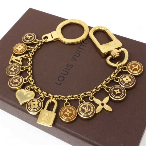 New Lv Chain It Bag With Lv Box Summer Collection 2017 u2677 authentic louis vuitton key chain ring charm lv lock