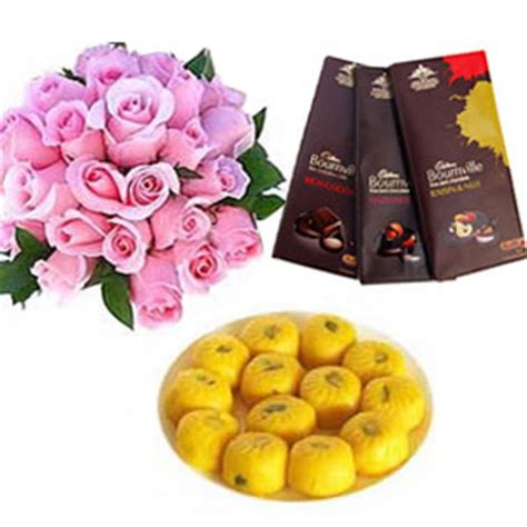 Serena Biscuit Flower Assorted 1kg Www Theharvestcorner diwali india florist send gifts diwali gifts flowers to hyderabad india