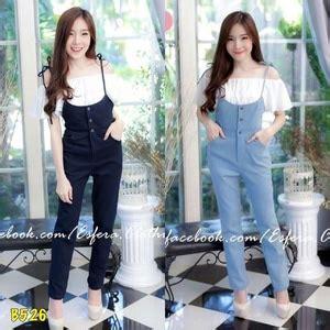 Setelan Denimbaju Setelansetelan setelan baju jumpsuit bahan denim panjang dan inner cantik