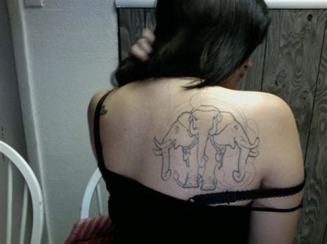 3 headed elephant tattoo by arrigumdrop on deviantart
