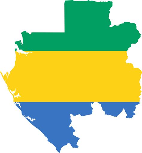 Flag Map file flag map of gabon svg wikimedia commons