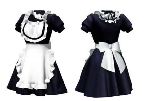 second life marketplace full perm rigged mesh maid