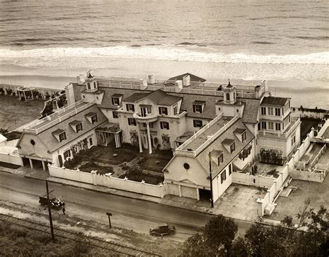 ocean house santa monica aerial view of ocean house the beach home of marion davies mansions pinterest