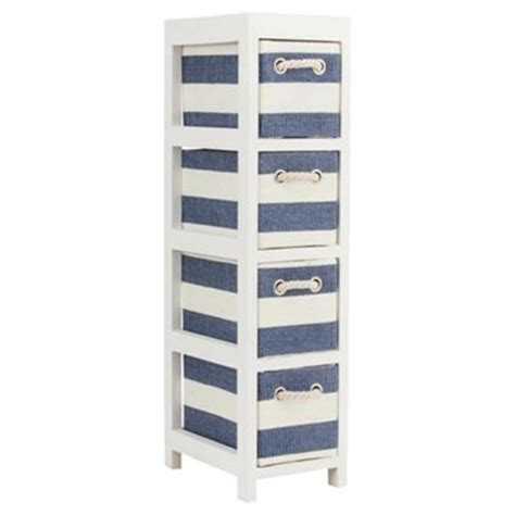 Lighthouse Shelf Unit by Buy Nautical Canvas 4 Drawer Storage Unit From Our